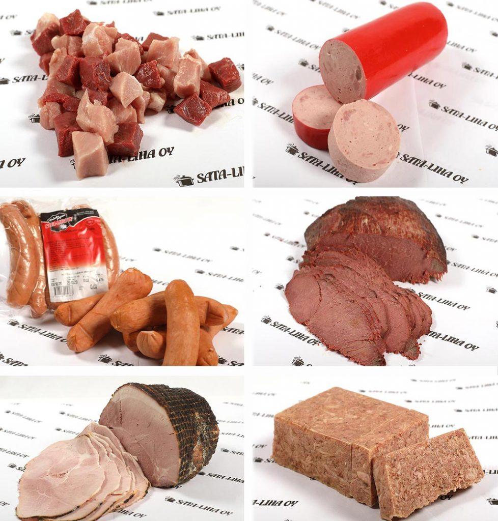 Sata-Lihan lihaisia tuotteita